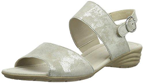 Gabor Prosper - Sandalias para mujer Gris (62 visone)