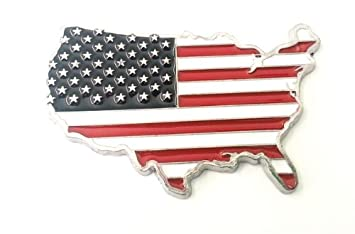 3d Metall Usa Amerika Metall Aufkleber Auto Emblem Sticker