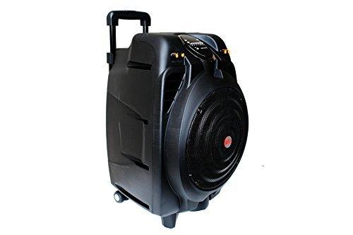 EMB PKX10BT 50W 10'' Portable Professional Rechargeable BOOM Box Speaker BLACK