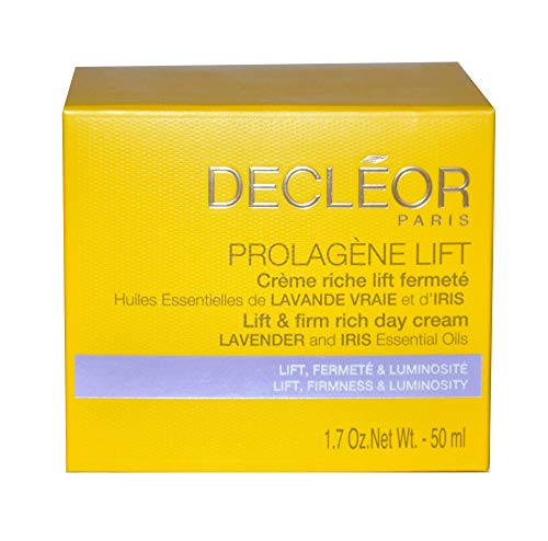 Decleor Prolagene Lift And Firm Day Cream Dry 50ml(1.7oz) Brand New - Aromessence Oil Iris