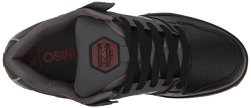 Osiris Pxl Charcoal/Black/Red Charcoal/Black/Red