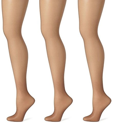 Sheer Hosiery Taupe - Butterfly Hosiery Women's Ladies Plus Size Queen Day Sheer Pantyhose Tights Stockings 3-Pack Dark Taupe 1X