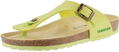 Sandales Cuir Sanosan Femmes Lime Chaussures Geneve wqn6FBZt