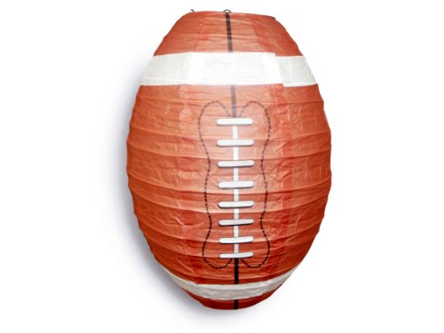 Quasimoon Football Paper Lantern by PaperLanternStore