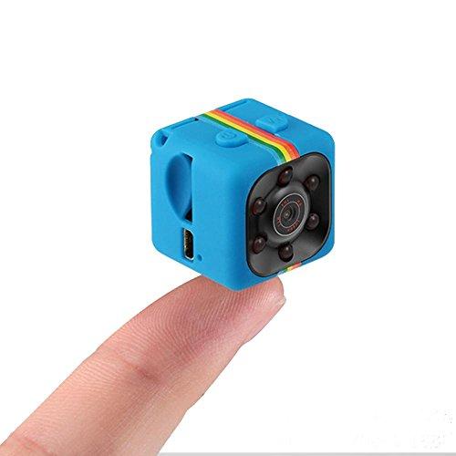 Pawaca Mini Camera SQ11 HD Camcorder Night Vision 1080P Sport DV Camera...