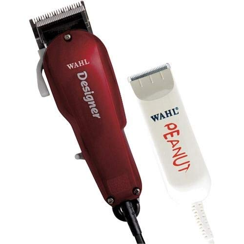 Wahl Professional All Star Clipper/Trimmer Combo #8331 Features Designer Clip and Peanut Trimmer Includes Accessories