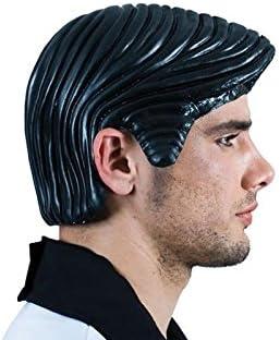 Sanroma - peluca latex hombre: Amazon.es: Juguetes y juegos