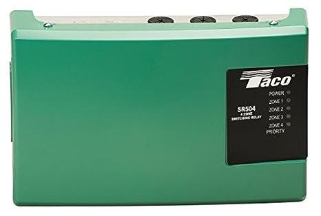 Taco TSR504-4 Four Zone Switching Relay: Amazon ca: Tools