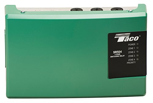 - Taco SR504-4 Switching Relay, 4 Zone