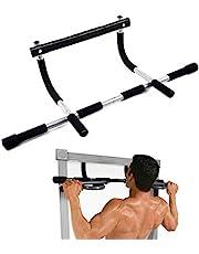 قضيب عقلة يُثبت على مدخل الباب من بنكيج بسعة وزن تبلغ 220 باوند، ملائم لأداء تمارين اللياقة البدنية المختلفة وبناء العضلات في المنزل