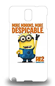 Galaxy Anti Scratch 3D PC Case Cover Protective American Despicable Me 3D PC Case For Galaxy Note 3 ( Custom Picture iPhone 6, iPhone 6 PLUS, iPhone 5, iPhone 5S, iPhone 5C, iPhone 4, iPhone 4S,Galaxy S6,Galaxy S5,Galaxy S4,Galaxy S3,Note 3,iPad Mini-Mini 2,iPad Air )