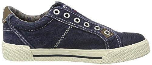 s.Oliver 44106, Zapatillas Para Niños Azul (NAVY 805)