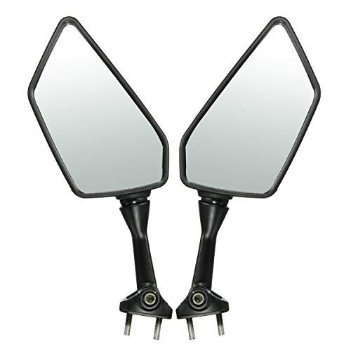 - Value-5-Star - 1 Pair Left Right Side Rear View Mirrors For KAWASAKI/NINJA 250R EX250 2008-2013
