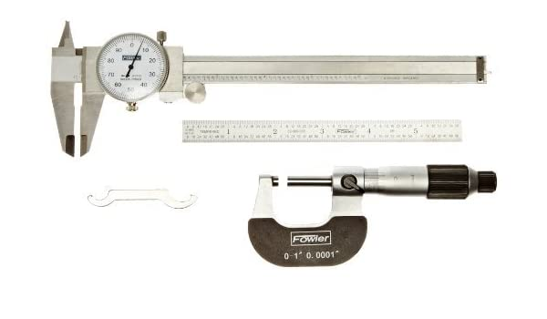 Fowler 52-227-002-1 Inch Individual Micrometer Standard 2 Max Measuring 2 Max Measuring Fred V Fowler Company Inc.