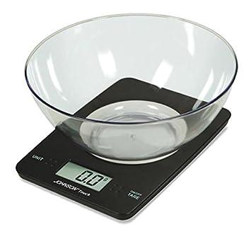 johnson bilancia da cucina digitale touch portata 5 kg graduazione 1 gr con