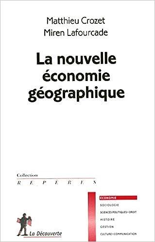 La nouvelle économie géographique