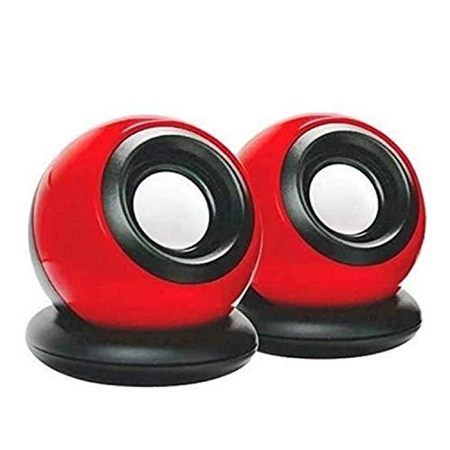 World Shopper Terabyte Speaker Clarion TB 008 USB 2.0 Mini USB Speaker for Laptop and Desktop  Multi Color
