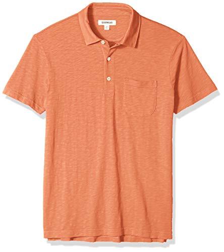 Amazon Brand - Goodthreads Men's Lightweight Slub Polo