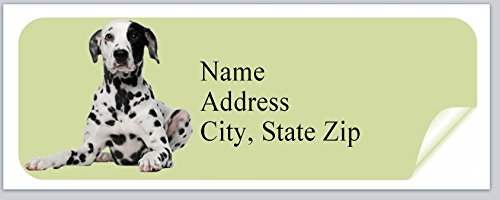 Dog Personalized Address Labels (120 Personalized Address labels Dog (p 86))