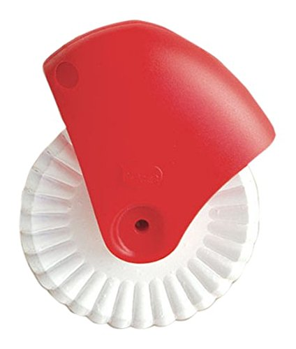 (Talisman Designs Pastry Wheel Cutter, Beautiful Lattice Pie Crust or Ravioli Pasta, Easy to Use, Easy to Clean)