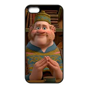 Disney Frozen Character Oaken iphone 4 4S Cell Phone Case Black Phone Accessories JV1G1195