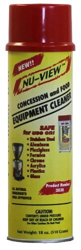 Price comparison product image Nu-View Concession & Food Equipment Cleaner (1)