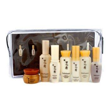 Sulwhasoo Travel Kit: Cleansing Foam 15ml+Serum 8ml+Toner 15ml+Emulsion 15ml+Eye Cream 3.5ml+Cream 5ml+Ess Finisher 8ml by Sulwhasoo by Sulwhasoo (Image #1)