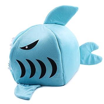 komia, diseño tiburón Cueva para perros pequeños Igloo Cálido Casa Interior cama para perro pequeño gato: Amazon.es: Productos para mascotas