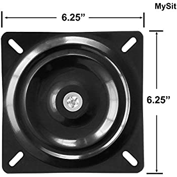 Amazon Com Mysit 6 25 Quot Bar Stool Swivel Plate Replacement