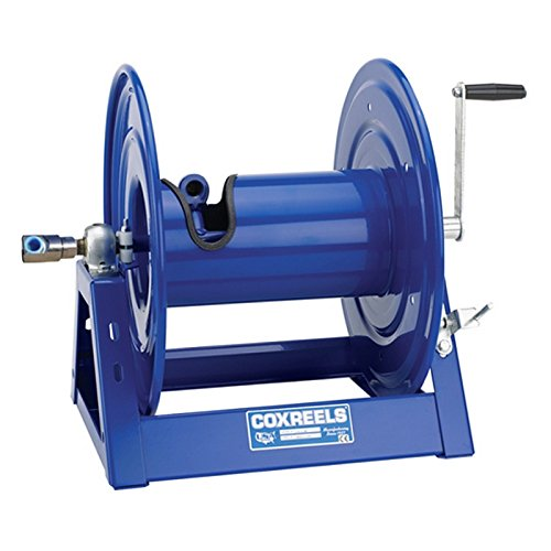 Coxreels Hp1125 4 100 Hand Crank Hose Reel 1 2  X 100 5000 Psi No Hose