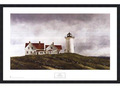 Framed Ferry Watch  32X23 5 Inches   Art Print  Classic Black Frame