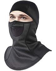 Unigear Sturmhaube, Balaclava Gesichtsmaske Skimaske Gesichtshaube Motorradmaske, Atmungsaktiv Thermoaktiv, Windschutz Ohrenschutz für Skifahren Motorradfahren Radfahren