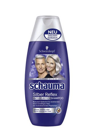 Schauma Silver Reflex - shampoo for gray hair - 250 ml -
