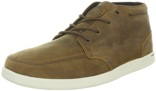 Reef - Spiniker Mid Nb, Pattini Di Vestito Brogue da uomo, Marrone (Brown), 43.5