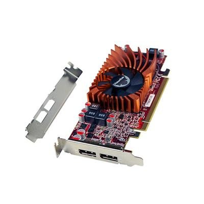 VisionTek Products 900942 Radeon 7750 SFF 2GB GDDR5 2x DP Graphics Card by VisionTek