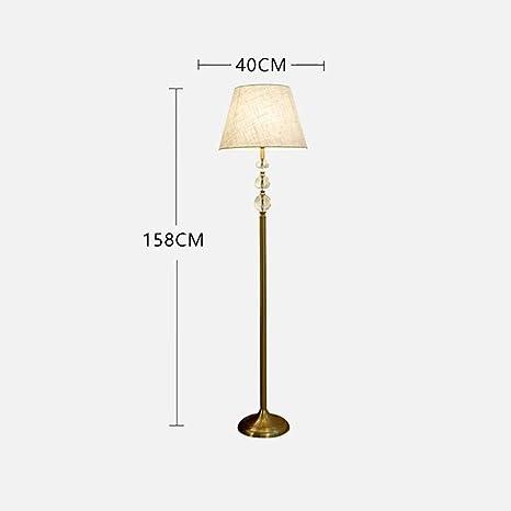 GSlda Lámparas de pie Moderna lámpara de pie de Cristal K9 ...