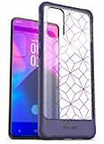 Encased Galaxy S20 Plus Case Purple (2020 Release) Protective Full Body Cover for Samsung S20+ (Clear/Purple)