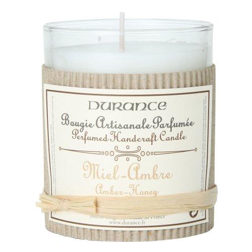 DURANCE デュランス ハンドクラフトキャンドル Perfumed Handcrafted Candle アンバーハニー 045205-8 並行輸入品