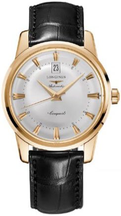 9143cd2b165 Longines Watches Longines Heritage Collection Conquest 18k Solid ...