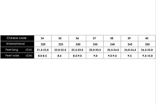 tacco inclinazione jing di Li zeppe testa Zeppe Wild con Be 38 Black piattaforma con Scarpe Scarpe Scarpe estiva Size Can moda Tacchi estive cm Color pesce home Black con 11 con Sandali 61dx1qv