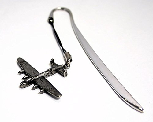 WW2 Avro Lancaster Bomber Letter Opener/Bookmark in English Pewter (With Gift - Collectors Cufflinks Case