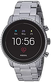 Fossil Men's Gen 4 Explorist HR Heart Rate Stainless Steel Touchscreen Smartwatch, Color: Smoke Grey (Model: FTW4012) (B07GB324YK) | Amazon price tracker / tracking, Amazon price history charts, Amazon price watches, Amazon price drop alerts