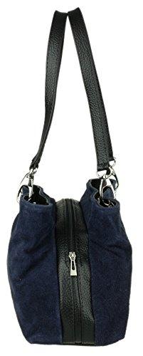 Girly hombro Mujer Bolso marino azul de Handbags BqrwTpB