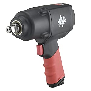 "Neiko 31392A 1/2"" Composite Air Impact Wrench 
