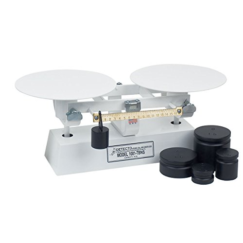[Detecto 1001TBNS Scale Baker's Dough 16 lb capacity 16 oz. x 1/4 oz. white ename] (16 Lb Bakers Scale)