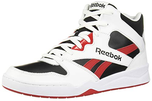 Reebok Men's Royal BB4500 HI2 Basketball Shoe, White/Black/Excellent Red, 15 M US (Jordan Shoes 15 Men)