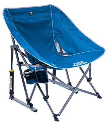 GCI Outdoor Pod Rocker Chair (Saybrook Blue)