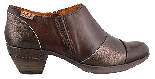 Pikolinos 902-5645 Olmo - Mocasines de Piel para mujer marrón oscuro