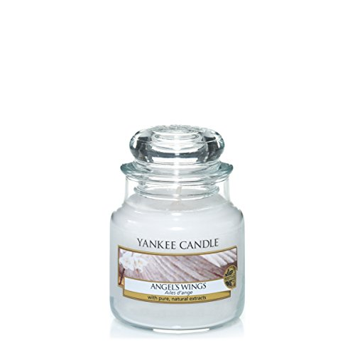Angel Wing Candle (Yankee Candles Small Jar Candle - Angel's Wings)