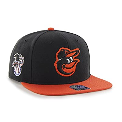 47 Brand Baltimore Orioles Two-Toned Sure Shot Mens Snapback Hat